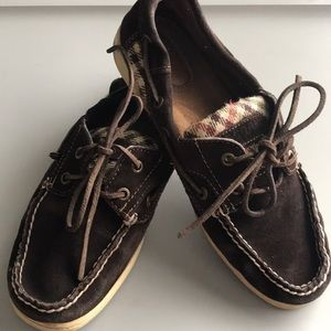 Brown Sperry Shoes